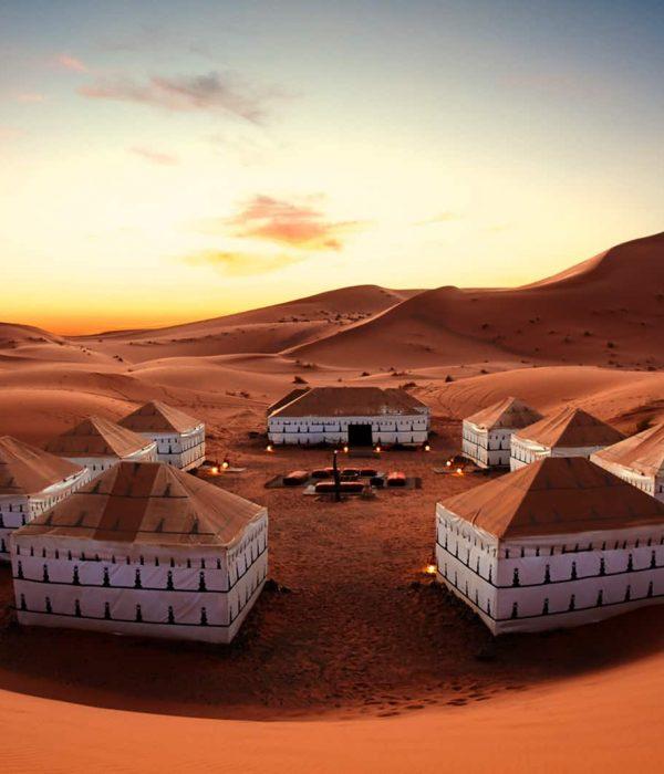 morroco tour desert camp