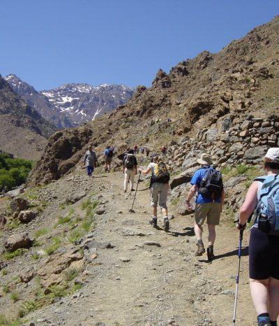 mountain hiking morocco tour
