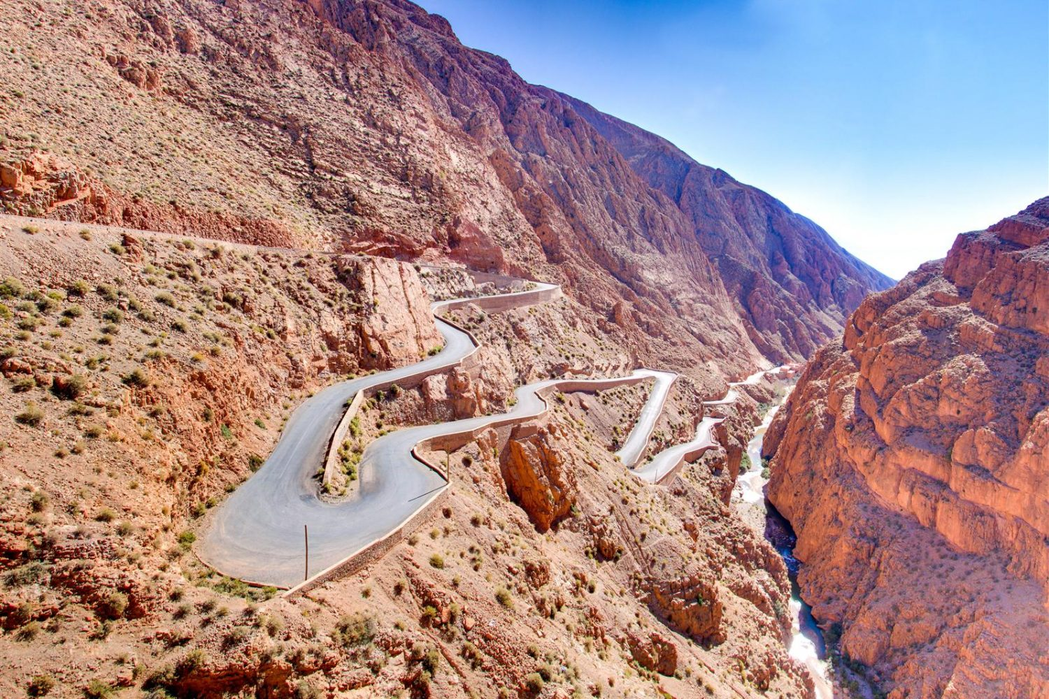 day trip from ouarzazate to todra gorges