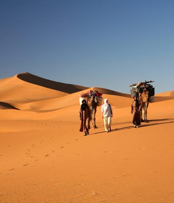 Morocco Tours from ouarzazate to erg chigaga